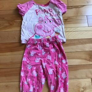 Other - Peppa Pig jammies